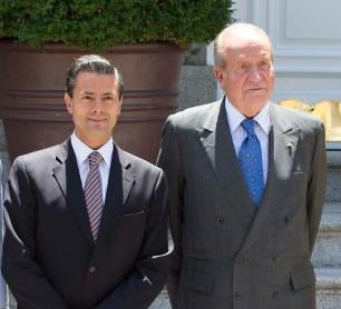 El presidente Enrique Peña Nieto llega a España #ElReyAbdica