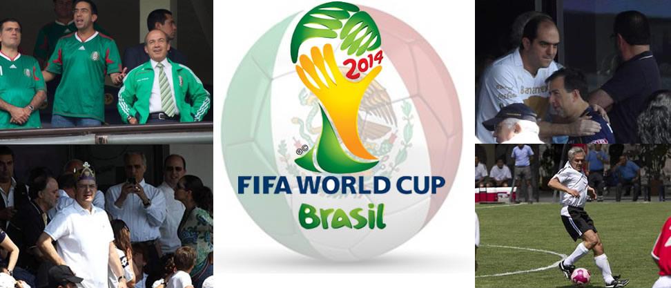 ¿Qué políticos mexicanos podrían ir al Mundial de Brasil?