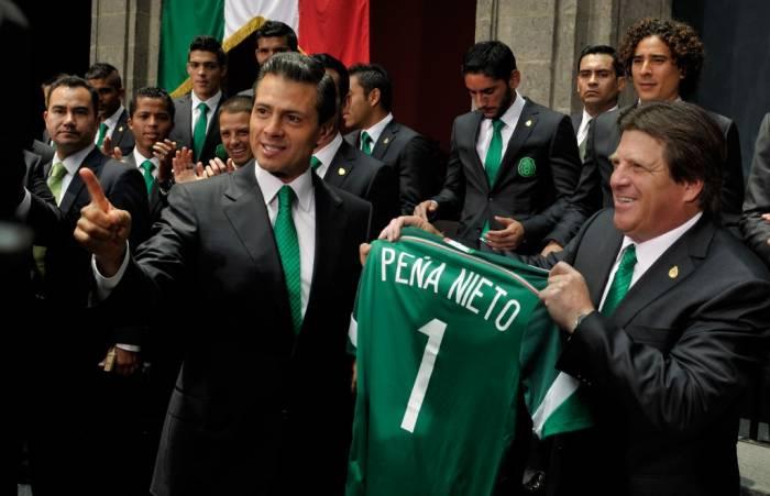 El Peña Nieto pambolero [FOTOS]