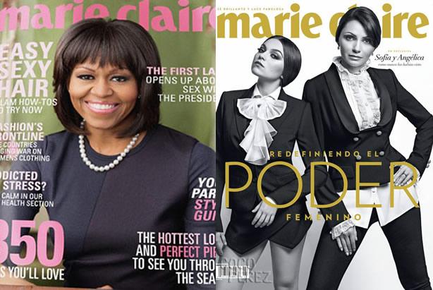 Angélica Rivera sigue los pasos de Michelle Obama
