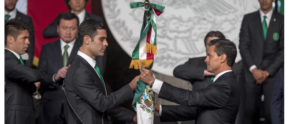 Las selecciones y los presidentes [Brasil 2014]