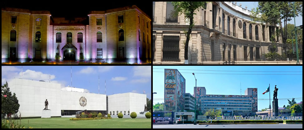 Edificios de las Secretarías de Estado