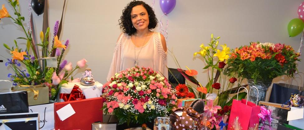 El cumpleaños de Mariana Gómez del Campo