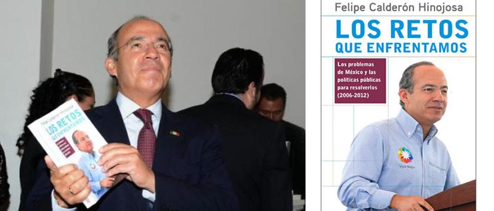 Felipe Calderón estrena libro