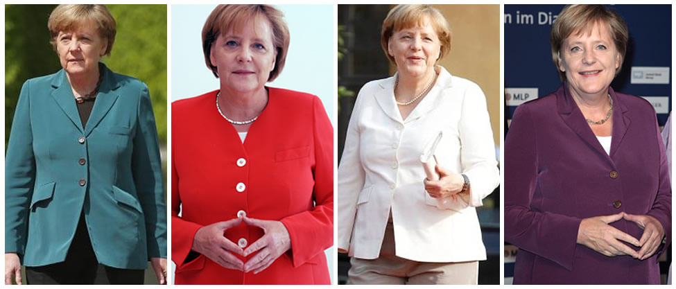 Las chaquetas de Angela Merkel [FOTOS]