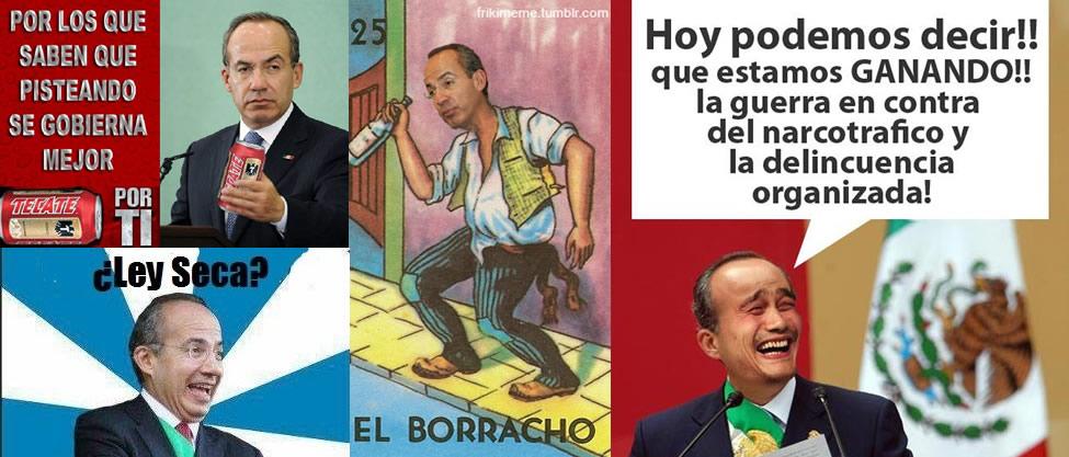 Los memes de Felipe Calderón