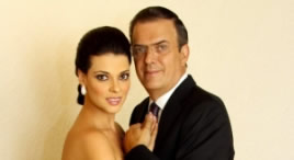 Marcelo Ebrard bautizó a sus mellizos