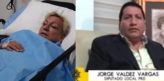 Travesti golpeado por diputado teme por su vida [VIDEO]