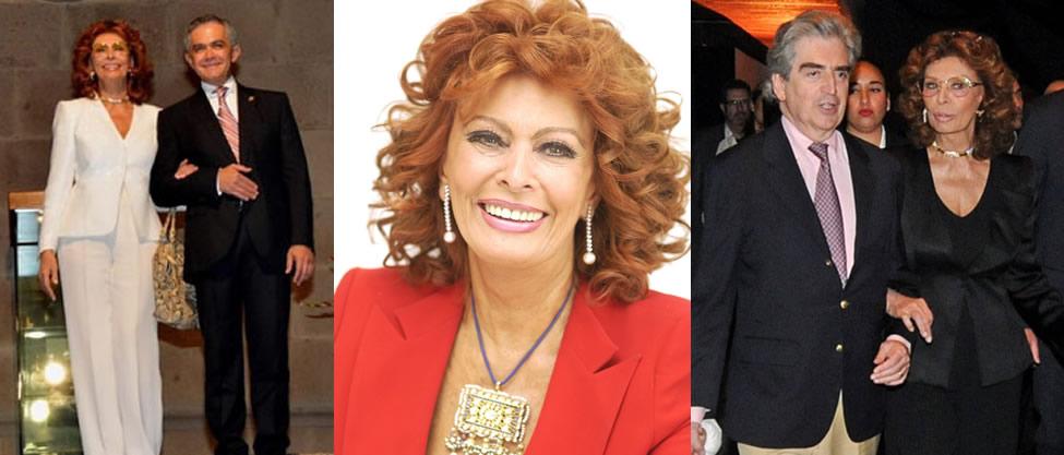 La política festeja a Sophia Loren