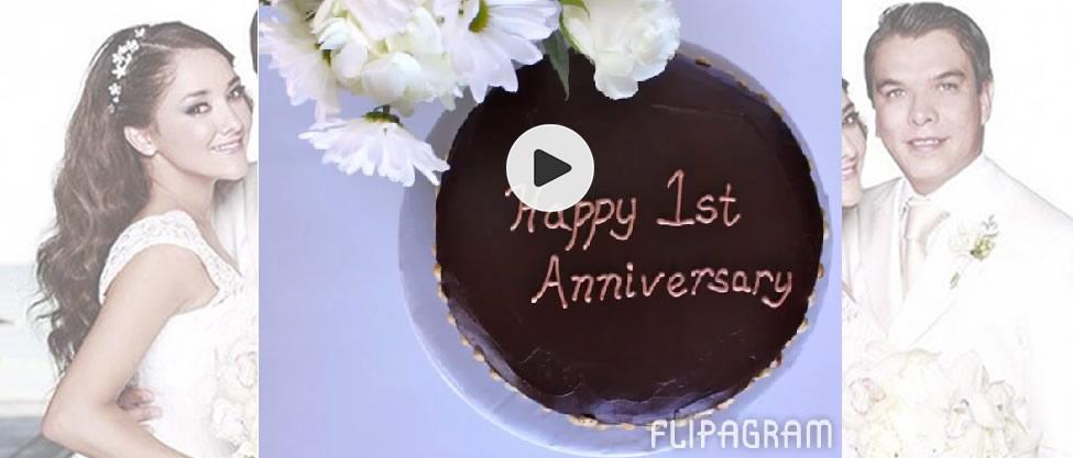 Gerardo Islas y Sherlyn celebran primer aniversario