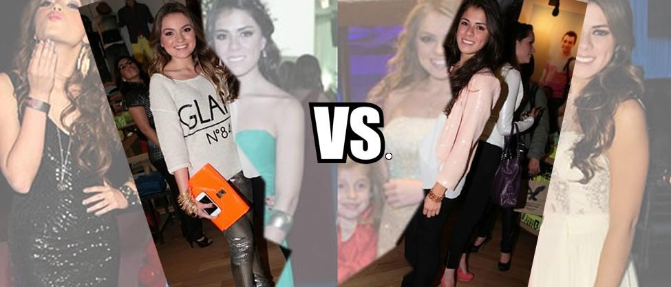 Duelo de estilo: Sofía Vs. Paulina