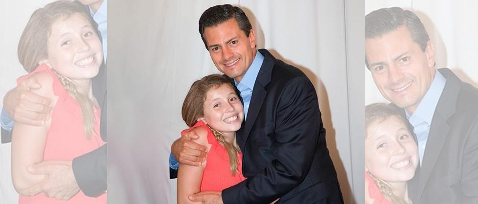 Peña Nieto felicita a Regina Castro