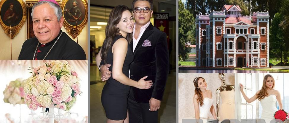 Detalles de la boda de Gerardo Islas y Sherlyn
