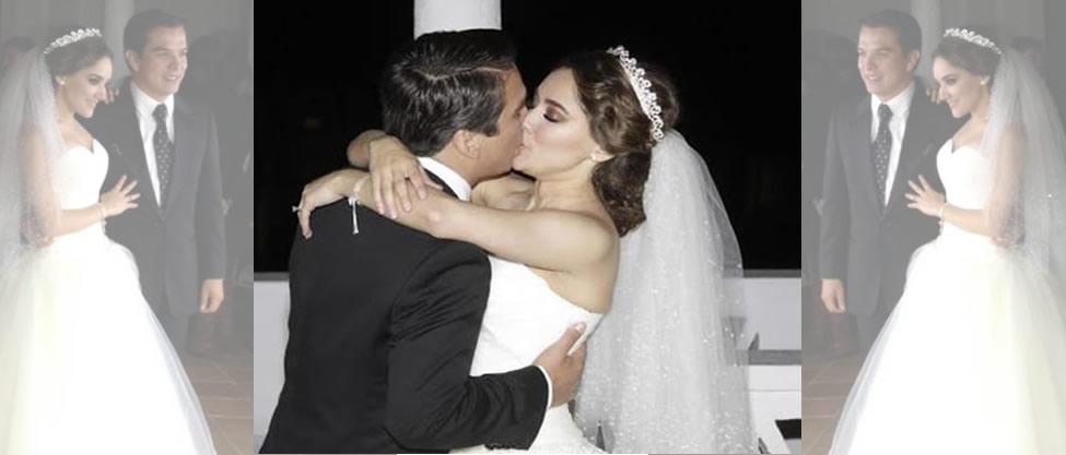 Así fue la boda de Gerardo Islas y Sherlyn