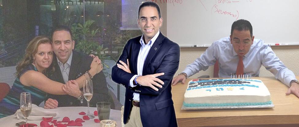 Los festejos de cumpleaños de Javier Lozano