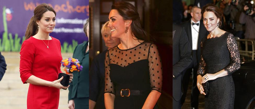 El embarazado look de Kate Middleton [FOTOS]