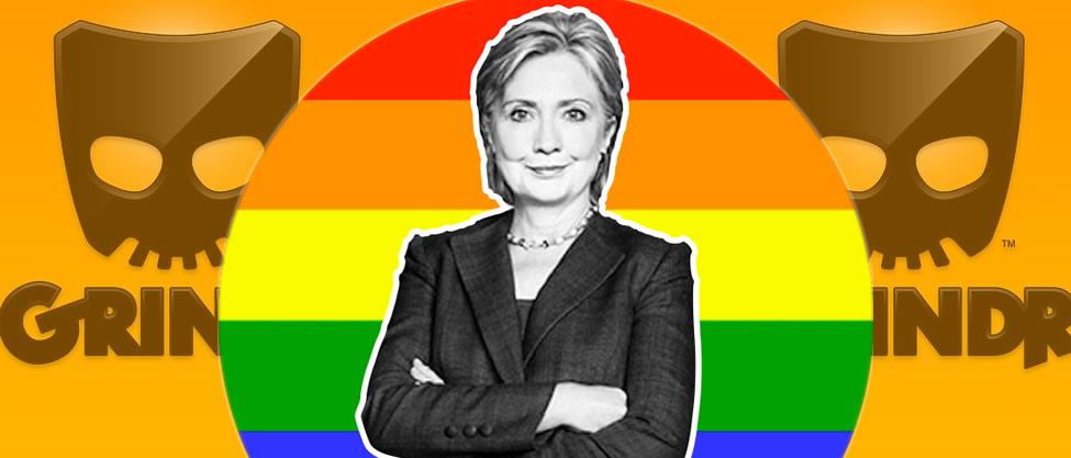 Hillary Clinton recibe premio de aplicación gay