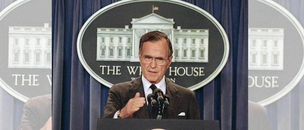 Hospitalizan al expresidente George Bush