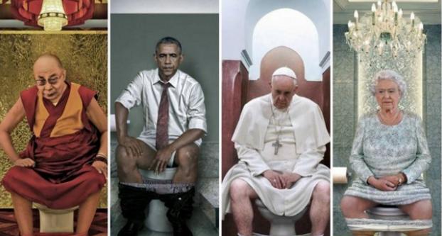 """El otro """"trono"""" de los líderes mundiales"""