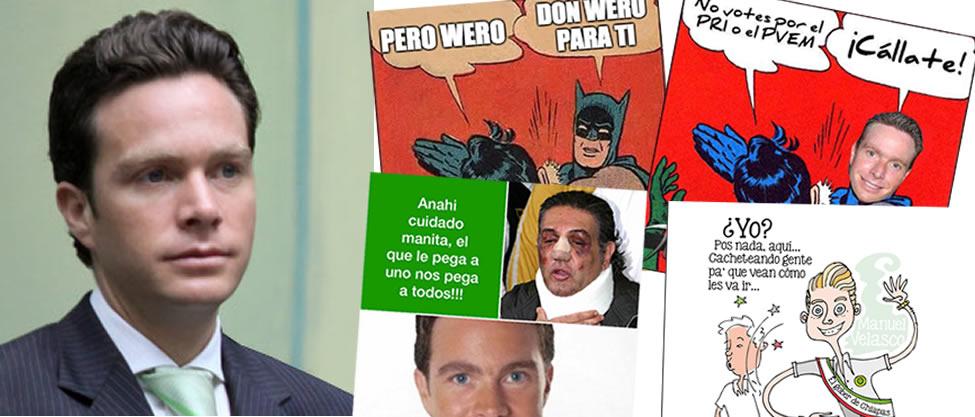 "Memes ""cacheteros"" de Manuel Velasco"
