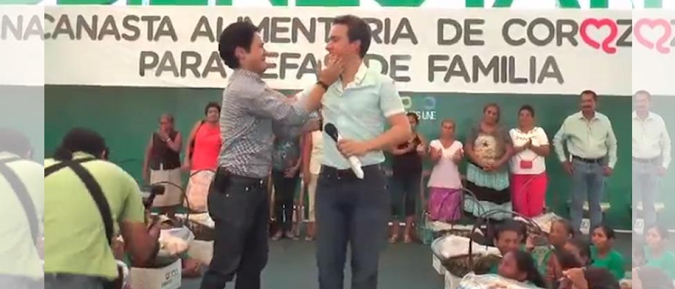 Manuel Velasco ofrece disculpas [VIDEO]