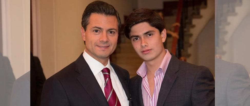 Peña Nieto felicita a su hijo Alejandro