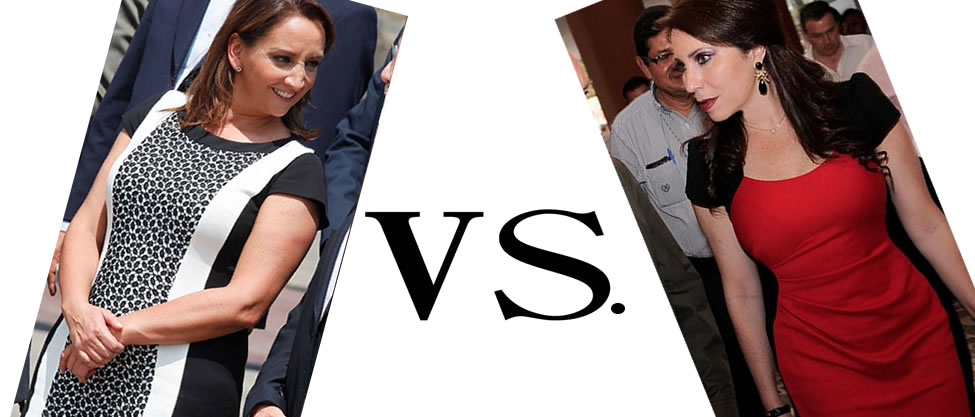 Duelo de vestidos: Claudia Ruiz Massieu vs. Bárbara Botello