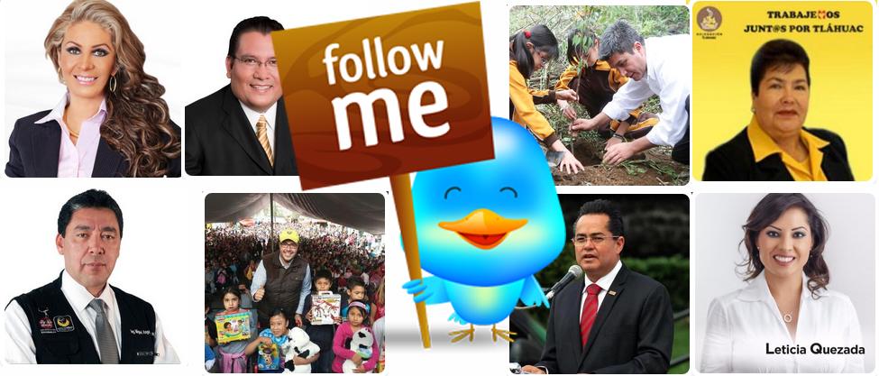 """Los jefes delegacionales """"pocos followers"""""""