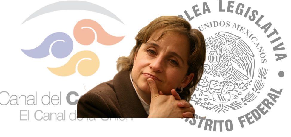Senadores y diputados quieren a Carmen Aristegui