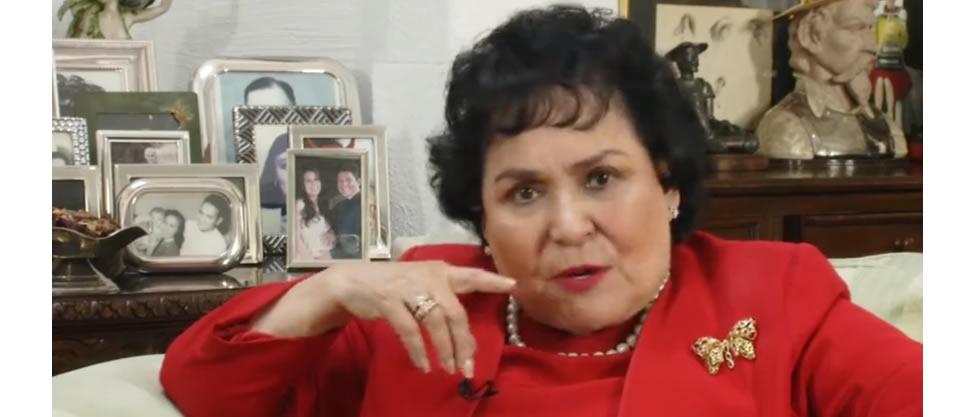 Tengo la obligación de hablar por el pueblo: Carmen Salinas