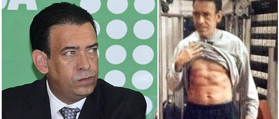 Humberto Moreira ya no quiere ver su abdomen marcado