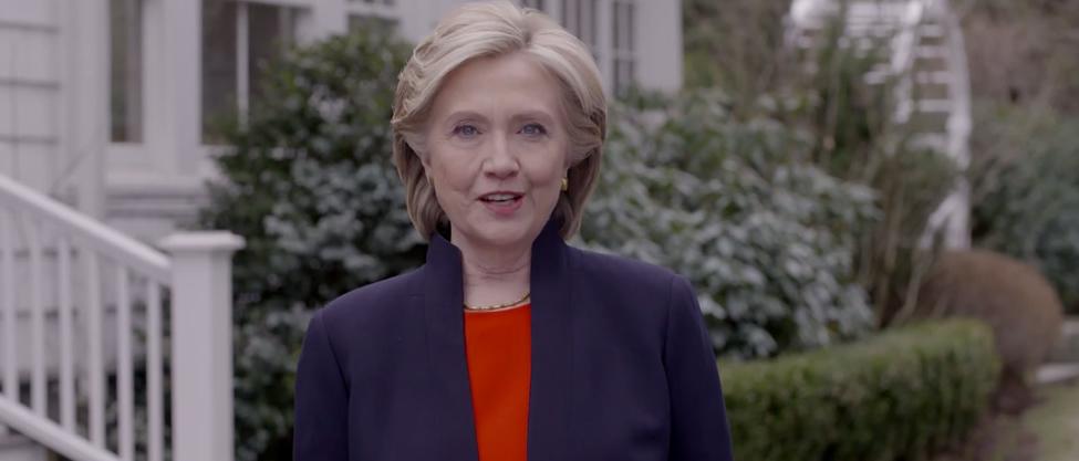 Hillary Clinton se lanza de nuevo para presidenta