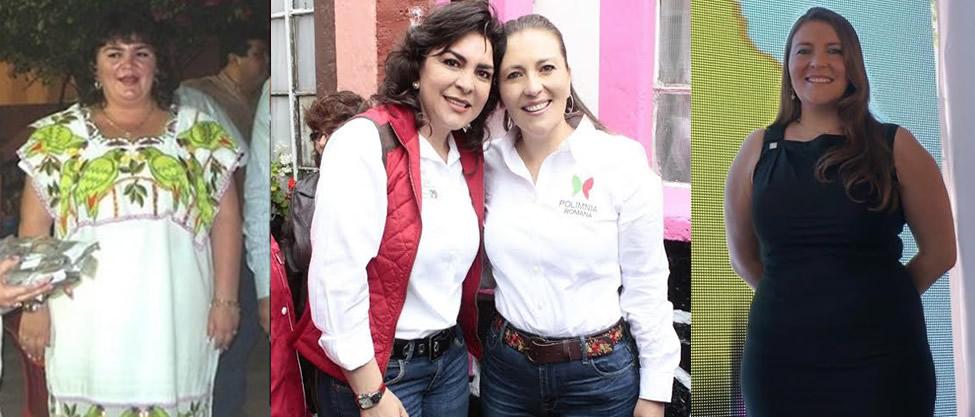 ¿Qué tienen en común Ivonne Ortega y Polimnia Romana? [FOTOS]