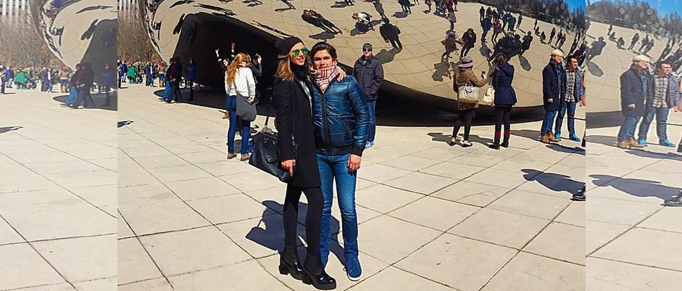Las vacaciones de Alejandro Peña y su novia Lula [FOTOS]