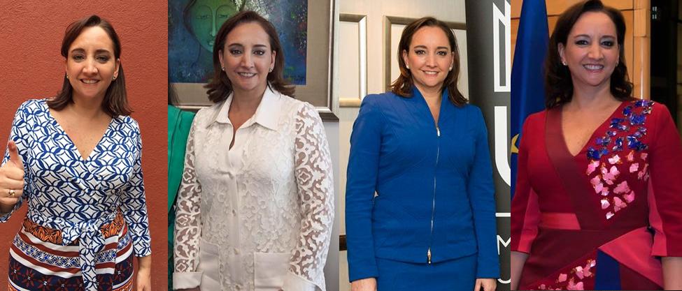Estampados vs. lisos de Claudia Ruiz Massieu