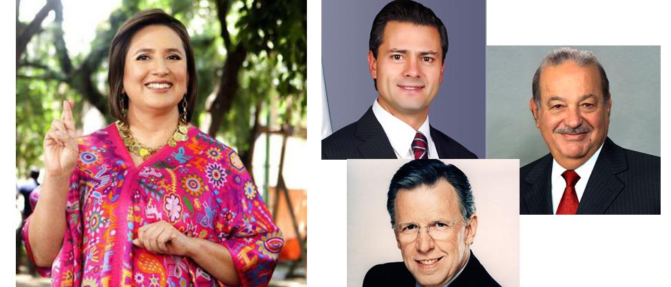 De quién será delegada Xóchitl Gálvez