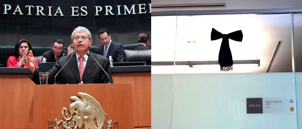 Luto en el Senado por Camacho Solis [FOTOS]