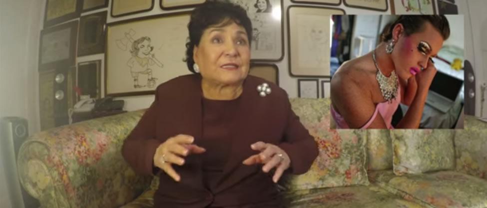 Carmen Salinas da clases de diversidad sexual
