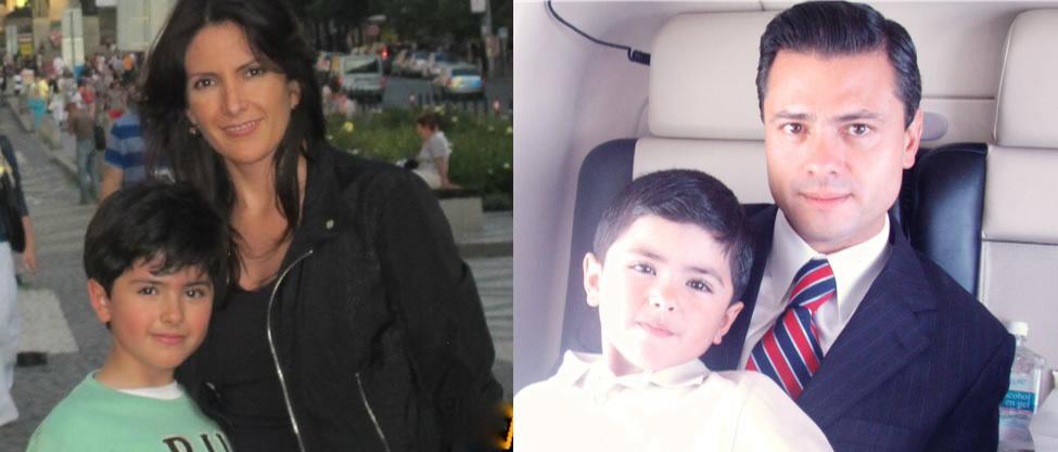 El hijo de Maritza Díaz y Enrique Peña Nieto cumplió años