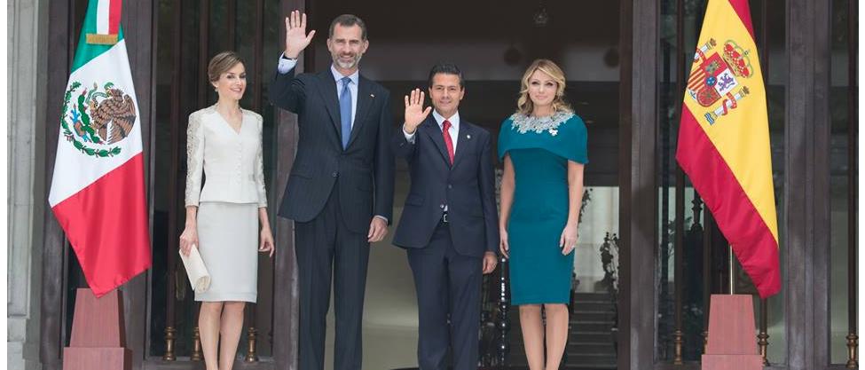 """Felipe y Letizia """"dos chilangos más"""" en el DF"""