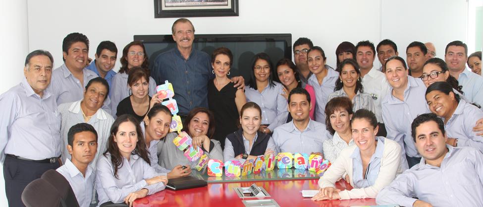 Vicente Fox cumple 73 años