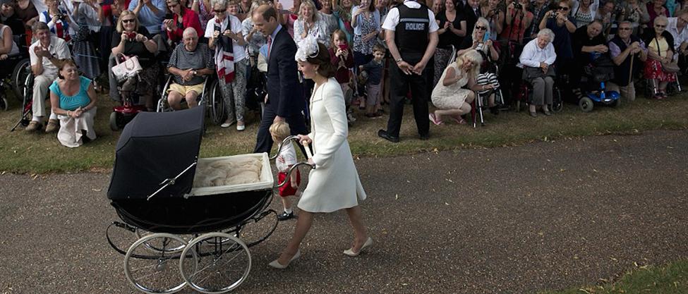 Bautizo real de la princesa Charlotte