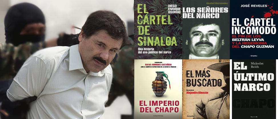 6 libros sobre El Chapo