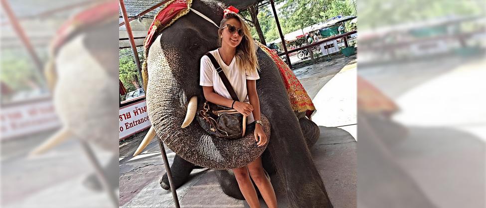 La novia de Alejandro Peña se va a Tailandia