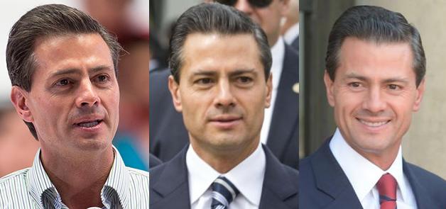 Así ha cambiado el rostro de Enrique Peña Nieto