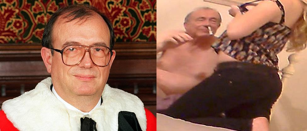 VIDEO: Lord Británico es captado consumiendo drogas con prostitutas