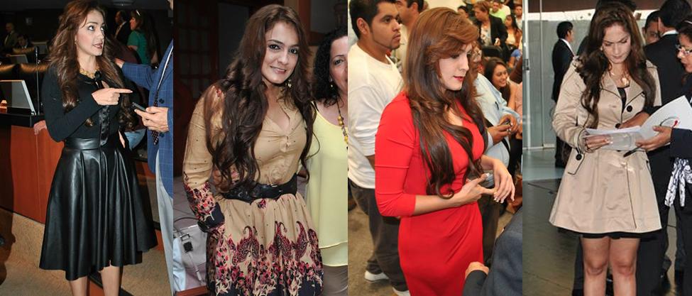 Los looks de Iris Vianey Mendoza