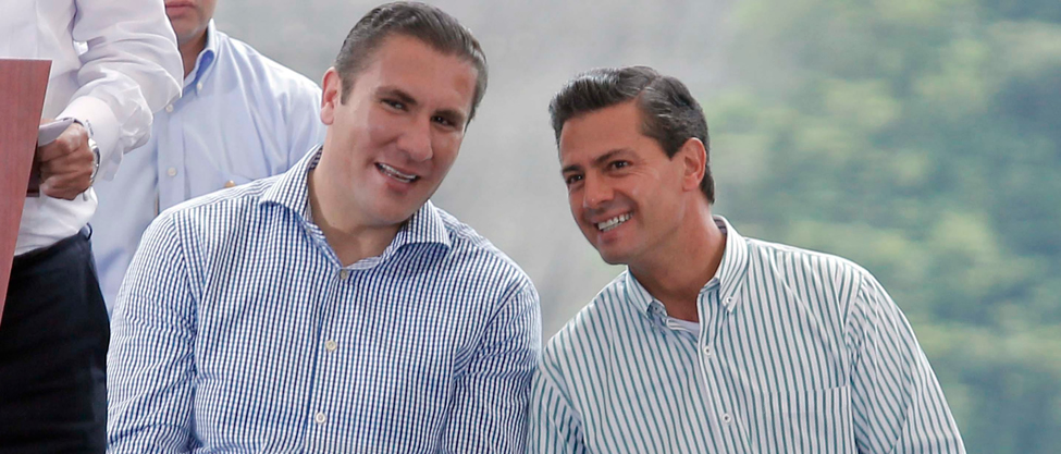 Peña Nieto y Moreno Valle se pintan el pelo