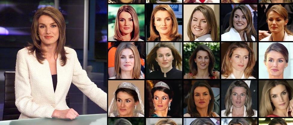 Los 43 rostros de la Reina Letizia
