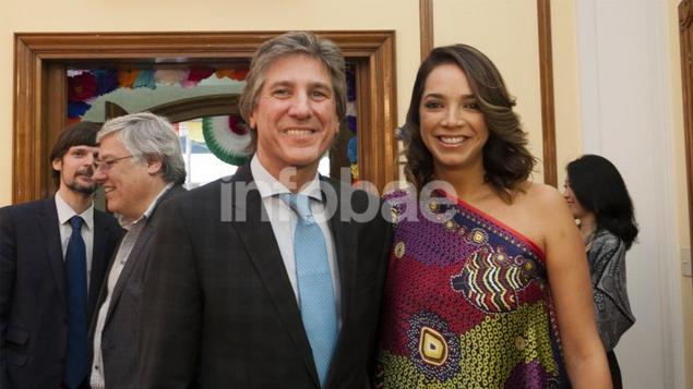 Vicepresidente de Argentina anda con ex diputada del Partido Verde